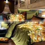 2015 New 3D bedding set animals and flower ,bed linen,bedding-set,family set 4 pcs