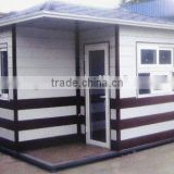 light steel structure two storey prefabricated building