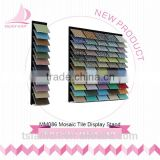 mosaic tile and mable stone exhibition rack for bathroom