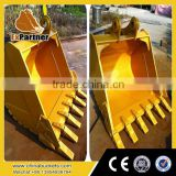 excavator bucket pin sizes, 5 teeth rock buket for LG6135E LG6210E LG6225E LG6250E LG6360 E LG6300E