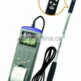 Mini Vane Air Flow Datalogger with Printer Air Speed/Volumb/Wet Bulb Datalogger AZ98792
