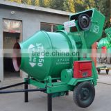 JZC350 Roller Drum Concrete mixer with Hydraulic type small size concrete pan mixer