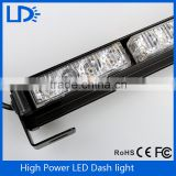 High quality red blue white amber truck vehicles drving light roof LED police warning strobe light bar