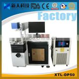 2014 hot sale! yag lamp pumped laser marking machine for metal and nonmetal material with CE,CIQ