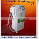 Fade Melasma Salon 2013 Multi-Functional Beauty Equipment New Design Clinic Skin Whitening E-light+IPL+RF Machine Instant Remove Wrinkle Rf Machine