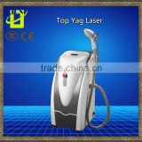 Beauty Machine tattoo removal portable q switch mini facial rejuvenation nd yag laser working