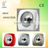quantum magnetic reveal uv skin analysis machine /skin analyzer magnifier /high definition skin scanner