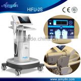 HIFU Beauty Equipment For Skin Rejuvenation/high Intensity 7MHZ Focused Ultrasound Hifu Skin Rejuvenation Machine Fat Reduction Waist Shaping