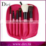 makeup anastasia 6pcs brush kit black make-up brush kit with pouch small brush kit for travel use