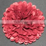 artificial tissue paper pom flower ball for wedding party decoration