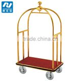 Luxury Hotel and Airport Luggage Cart Baggage Trolley