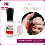 Professional nail care free sample soak off nail art design uv gel polish