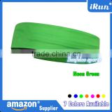 Fashion Stretch Nylon Yoga Headband - 69% nylon 17% polyester 14% Lycra Exercise Headband - Accept Custom - 7 Colors