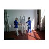 Durable DIY Aluminum alloy Foldable Scaffolding with Tig Welded System  2kn /  Loading Capacity