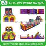 0.55mm PVC Materia Boot Camp Inflatable Obstacle Type Cheap Inflatable Obstacle Course For Sale
