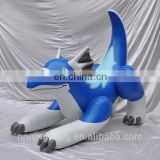 Ningbang hot sale giant inflatable zenith dragon blue color,pvc inflatable toy