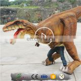Lifelike Adult Walking Velociraptor Costume For corporate Events