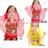 BestDance girls belly dance silk veil tribal belly dance head veil sexy chiffon veil OEM