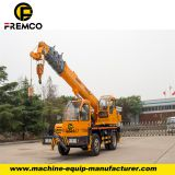 12 tons Mobile Crane Truck for Logistical service selfmade chassis crane