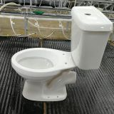 Bathroom Sanitary Ware Ceramic two-piece toilet WC for Africa toilet bowl