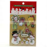 Christmas Gel Gift Stickers for Christmas Day