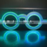 Advertising led eyewear sign for glasses /led eyewear glasses sign 3d led channel letter/led letter sign