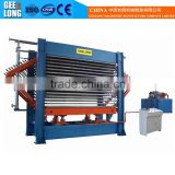 plywood core veneer hot press dryer with Taiwan hydraulic station