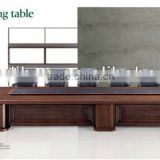 600cm mdf wood veneer custom conference tables/luxury conference table office furniture PS-505