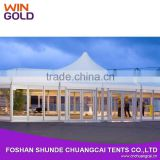25x60m Luxury Aluminum PVC outdoor used commercial tent for party wedding event                                                                         Quality Choice