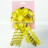 Star Bow /Gift Packing Ribbon Bow for Packaging or Holiday Decoration/Artificial pp bow for home decoration