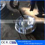 High quality overhead crane steel monorail trolley wheel