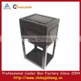 Wooden cola diesel engine oil cooler