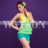 printig material lady's tankini swimming suits bathing suits