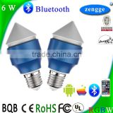 6w RGBW Bluetooth Led E27 New Bulb Smart Home Control System iPhone Android Smart App Chandelier Parts