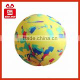 2014 hot selling christmas tin ball children indoor playground golf training aids