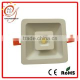 Good sales high brightness led square ceiling downlight luminaire with aluminium alloy body