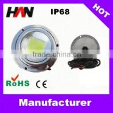 Stainless steel IP68 high lumen above ground led pool lights