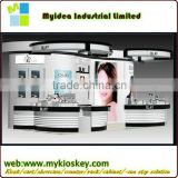 Unique style bake painting retail store cosmetic shop furniture