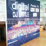 Frameless fabric led slim frame /frameless poster frames/aluminum fabric frame 2014 new products