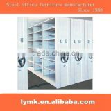 Steel office furniture popular CKD movable compact shelf systerm/used metal file cabinet for sale
