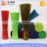 China supplier PP PET flaggable plastic broom brush bristle filament                                                                         Quality Choice