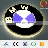 online shopping low price round BMW led light up car logo emblem                                                                                                         Supplier's Choice