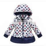 2015 Latest girls winter clothes outwear down jacket boutique child clothes wholesale warm winter coat children (ulik-J018)