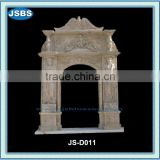 Handmade Arched Decorative Door Marble Border Design