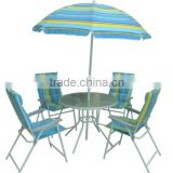 Garden Table Sets,Bistro Table Sets,Patio Table Sets,6 Pcs Tabel Sets,Folding Chair Sets