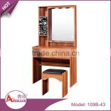 Wholesale bedroom furniture makeup dressers mirrored wooden cheap dressing table with drawers                                                                         Quality Choice