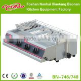 BN-746 indoor charcoal bbq grill/portable charcoal bbq grill/commercial charcoal bbq grill