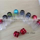 private label small capsule bullet casings/high quality Wholesales plastic capsule bottles/factory supply plastic capsule case