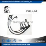 High voltage silicone Ignition wire set, ignition cable kit, spark plug wire FS01-18-140 for MAZDA