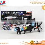 Popular safe shock laser tag gun flashing gun toys plastic electric gun
